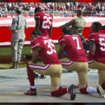 Former NFL star cited for #TakeAKnee campaign