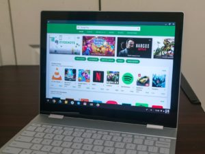 Chromebook moment tying comes to non-Google phones