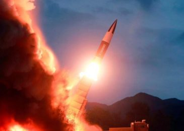 North Korea launches two more 'short-range ballistic missiles' into the sea