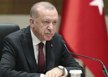 In Syria Turkey's Erdogan requests that Russia's Putin move to one side